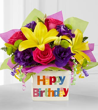 Colourful Birthday Flower Delivery