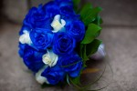 Amazing Blue Wedding Bouquets