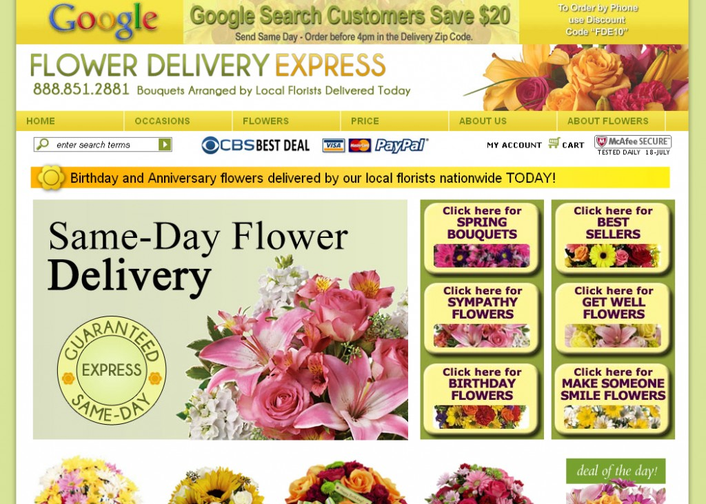 Amazing Floral Delivery Companies