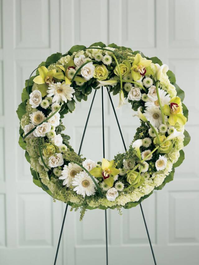 Round Flower Arrangements For Funerals