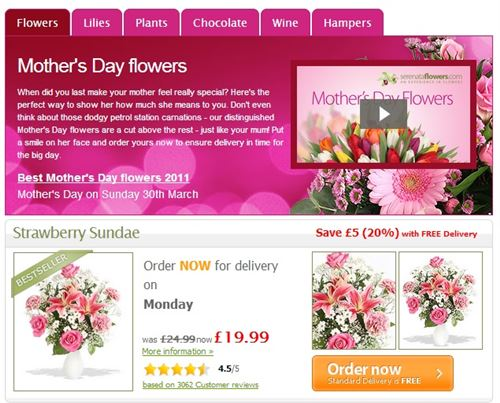 Sweet Flowers With Free Delivery