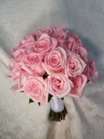 Lovely Pink Fresh Wedding Bouquets