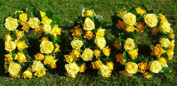 Yellow Funeral Flowers Online