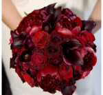 Gorgeous Red Wedding Bouquets