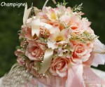 Alluring Silk Flower Wedding Bouquets