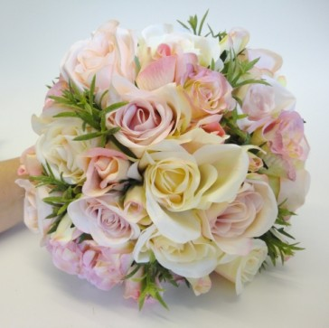Beautiful Silk Wedding Bouquets