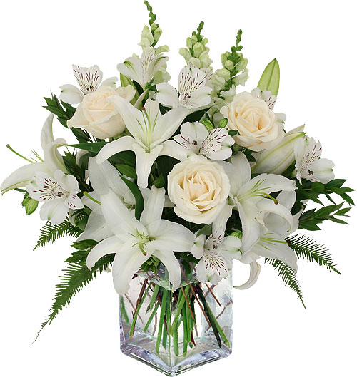 Refined Sympathy Flowers Delivered
