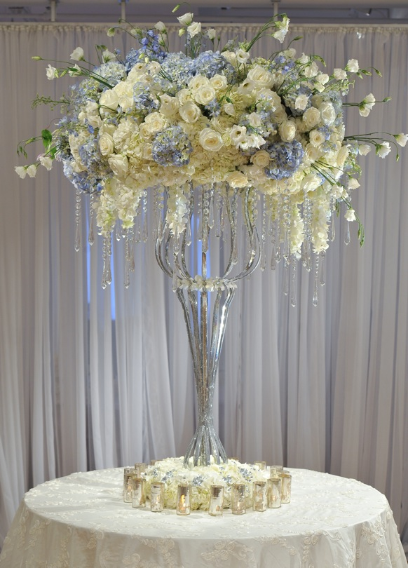Nice Tall Wedding Centerpieces