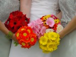 Colourful Wedding Bouquets Ideas