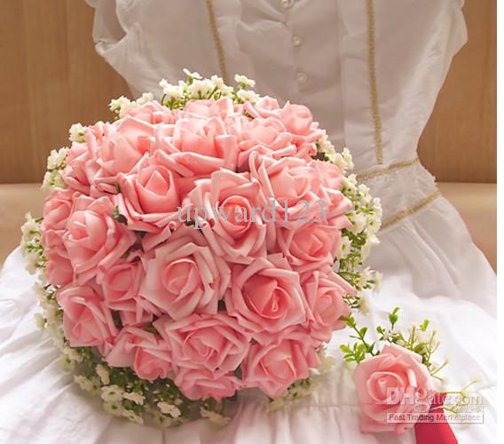 Lovely Wedding Bouquets Roses