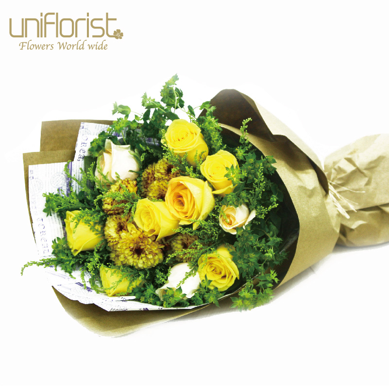 Amazing Yellow Roses Delivery